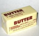 butter - saturated fat