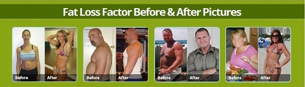 Fat Loss Factor Before and After