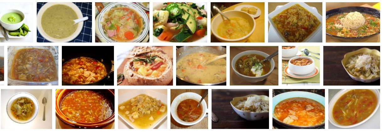 different soups